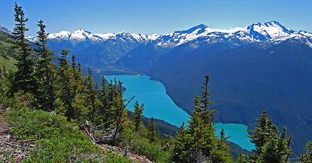 Hiking on Whistler Mountain